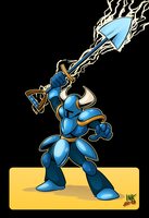 Shovel Knight Fanart by theinkBot