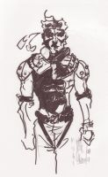 solid snake MGS by M4n1nm1rr0r