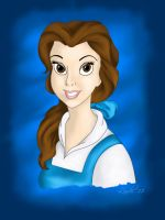 Belle - Painted by Gilove2dance