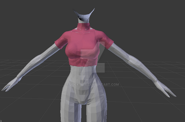 MMD Sweater WIP by Joey-XuX