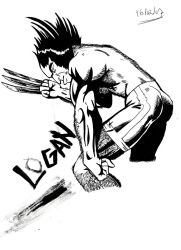 Logan Wolverine (some fixes) by leandrw
