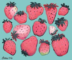 Strawberry fields forever by Inprismed