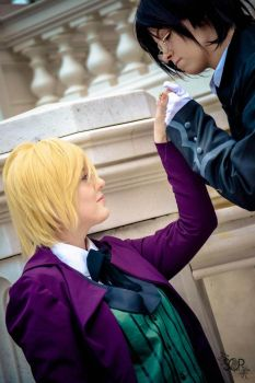 Alois and Claude by NekoLinCosplay