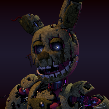 Springtrap Bust by Lord-Kaine