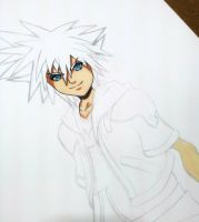 Wip .. Sora (Kingdom hearts) by Anan-MaQsoud