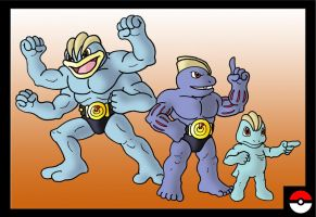 Machop Family