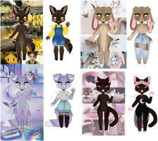 aesthetic adopt 4/4 open by 22goblins