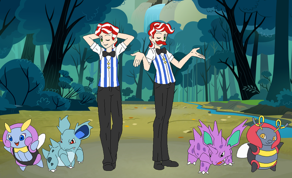 Baltimare Gym Trainers Flim and Flam by SelenaEde
