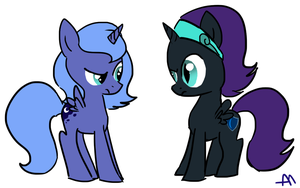 Nyx and Luna by BananimationOfficial