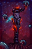 Mother metroid by Ross-A-Campbell