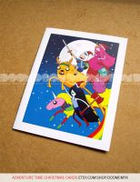 Adventure Time Christmas Cards by DoomCMYK