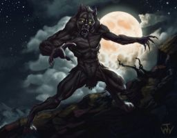 Werewolf by johnnymorrow