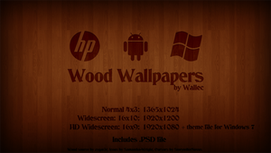 Wood Wallpaper by wwalczyszyn
