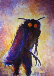 Mothman early in the morning by CosySister