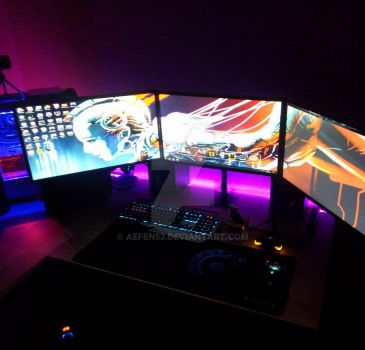 PC Work Station by AefeN53