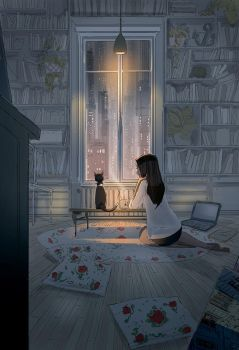 Staying IN by PascalCampion