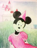 Minie Mouse Commission by DeadHorse-Yuki