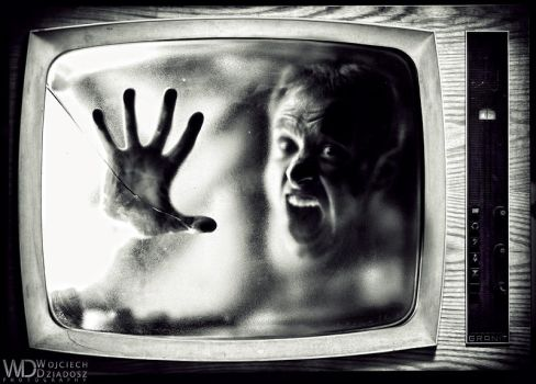 Prisoner of  television by WojciechDziadosz