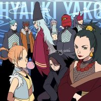 VILLAINS - HYAKKI YAKO by tsurugami