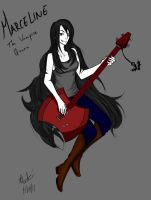 Marceline the Vampire Queen by ElementalEssence