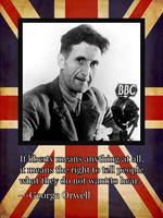 George Orwell, the British Rebel by BullMoose1912