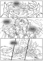 Drusera - Lineart Pg01 by Quarter-Virus