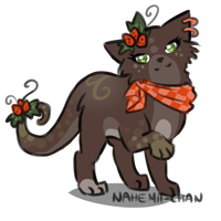 Cat Adopt #2 - closed by Nahemii-chan
