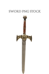 Sword PNG STOCK by KarahRobinson-Art