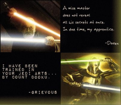 Dooku and Grievous by DoktorSkiffian