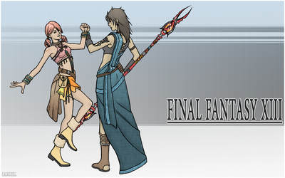 Fang and Vanille - FFXIII by calicoJill