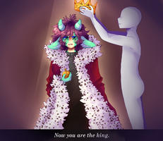 -EDDSWORLD- Now you are the king by NatiB-art