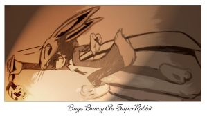 Bugs Bunny as SuperRabbit by sid