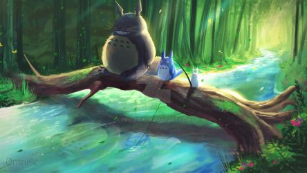 My Neighbor Totoro by OmnificA
