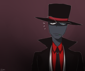 Villainous-Black Hat 3 by w-Kiwi-w