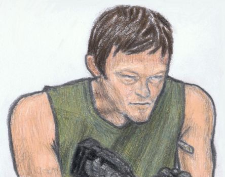 Daryl taking his temperature by gagambo