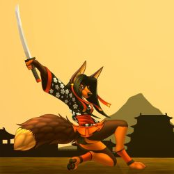 A warrior of the east. by TalesFoxdale