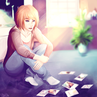 Scattered Polaroids by hisonae