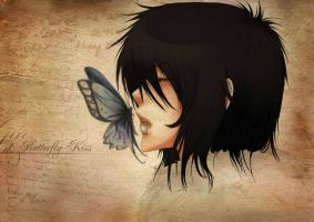 Butterfly Kiss by Misuzee