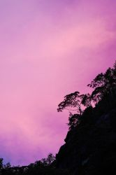 Purple sky by JuhaniViitanen