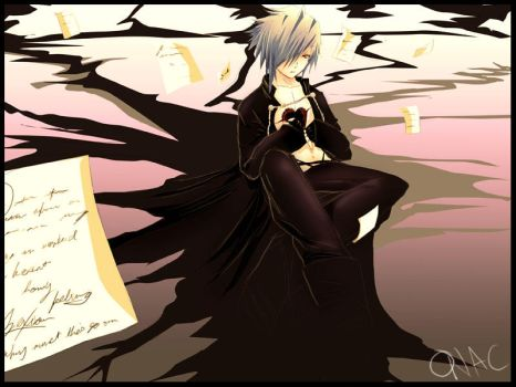 Zexion ripped heart by onac911