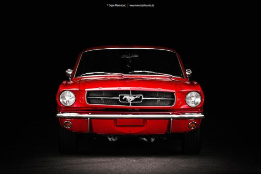65redmustang by AmericanMuscle