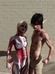 Anime North 2014 - Attack on Titans by jussicpark