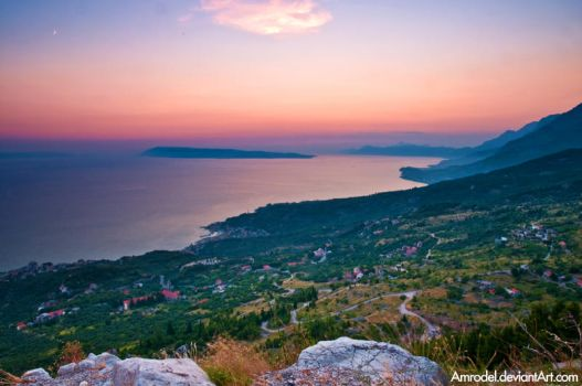 Adriatic Sunset by amrodel