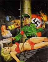 Nazis Again by peterpulp