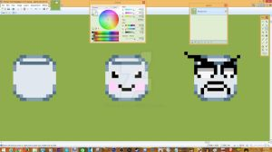 Marshmallow Sprites c: by DarkrowTheHedgelynx