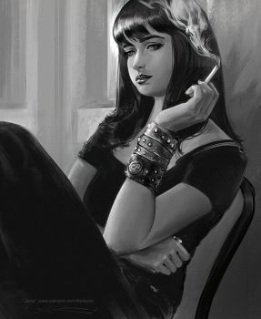 Jane Margolis - Breaking-Bad - Character Study by fantasio