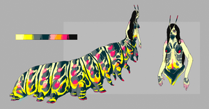 caterpillar taur adoptable [OPEN] by ssleepy
