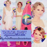 ~Taylor Swift TCA 2012 by AndreDevonne