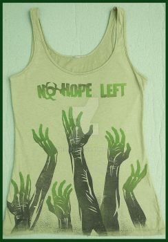 Resident Evil, No Hope Left T-shirt by me by ThelastA