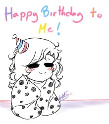 happy birthday to me post(Thank you everyone! :3) by brokenheart345